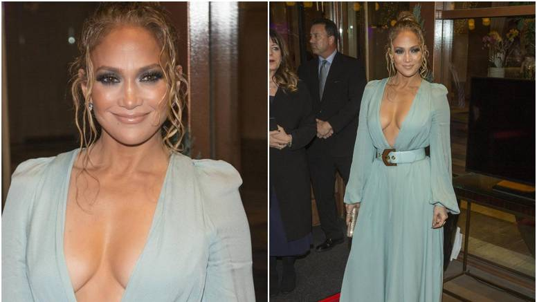 J.Lo raspametila: Na dodjeli nagrada istaknula je dekolte