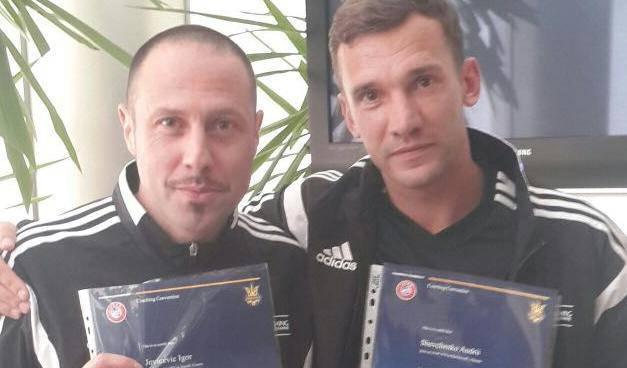 Zajedno su polagali: 'Ševčenko je spoj Ancelottija i Mourinha'