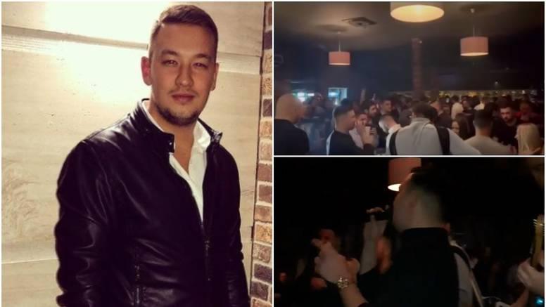Folker pjevao u krcatom klubu: 'O mjerama treba brinuti gazda'