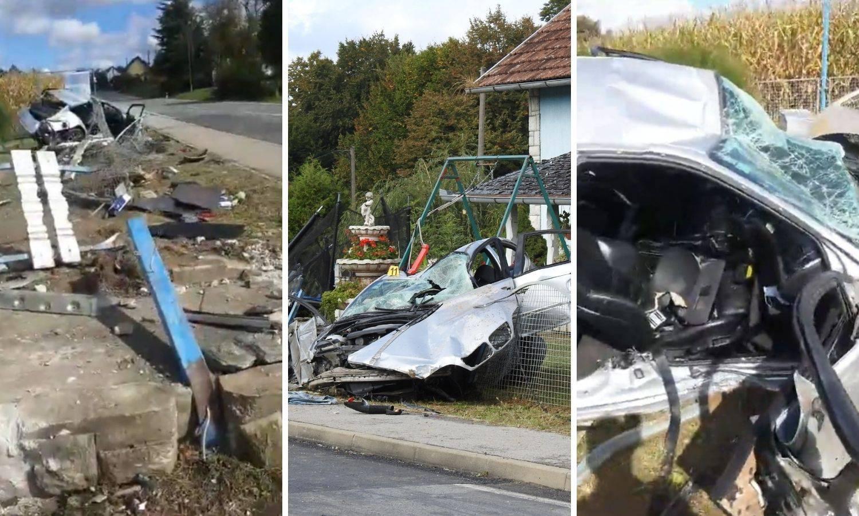 Detalji užasa kod Čazme: 'Mislio sam da su poginuli. Troje ih je ispalo iz auta, bili su posvuda'