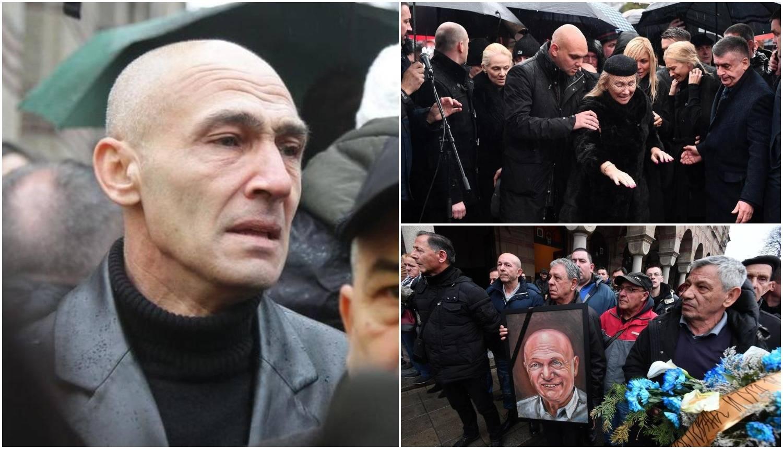 Šabanov izvanbračni sin došao na pogreb: Skrivao se od ljudi...