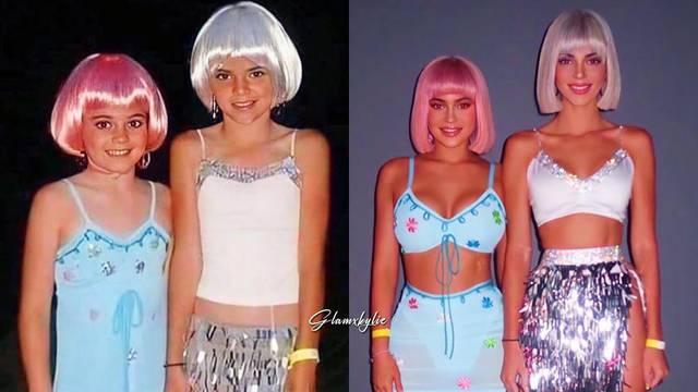 Kylie i Kendall rekreirale kostim iz djetinjstva: 'Previše ste seksi'