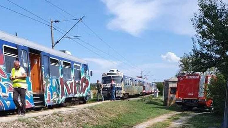 Zapalio se vlak kod Novske