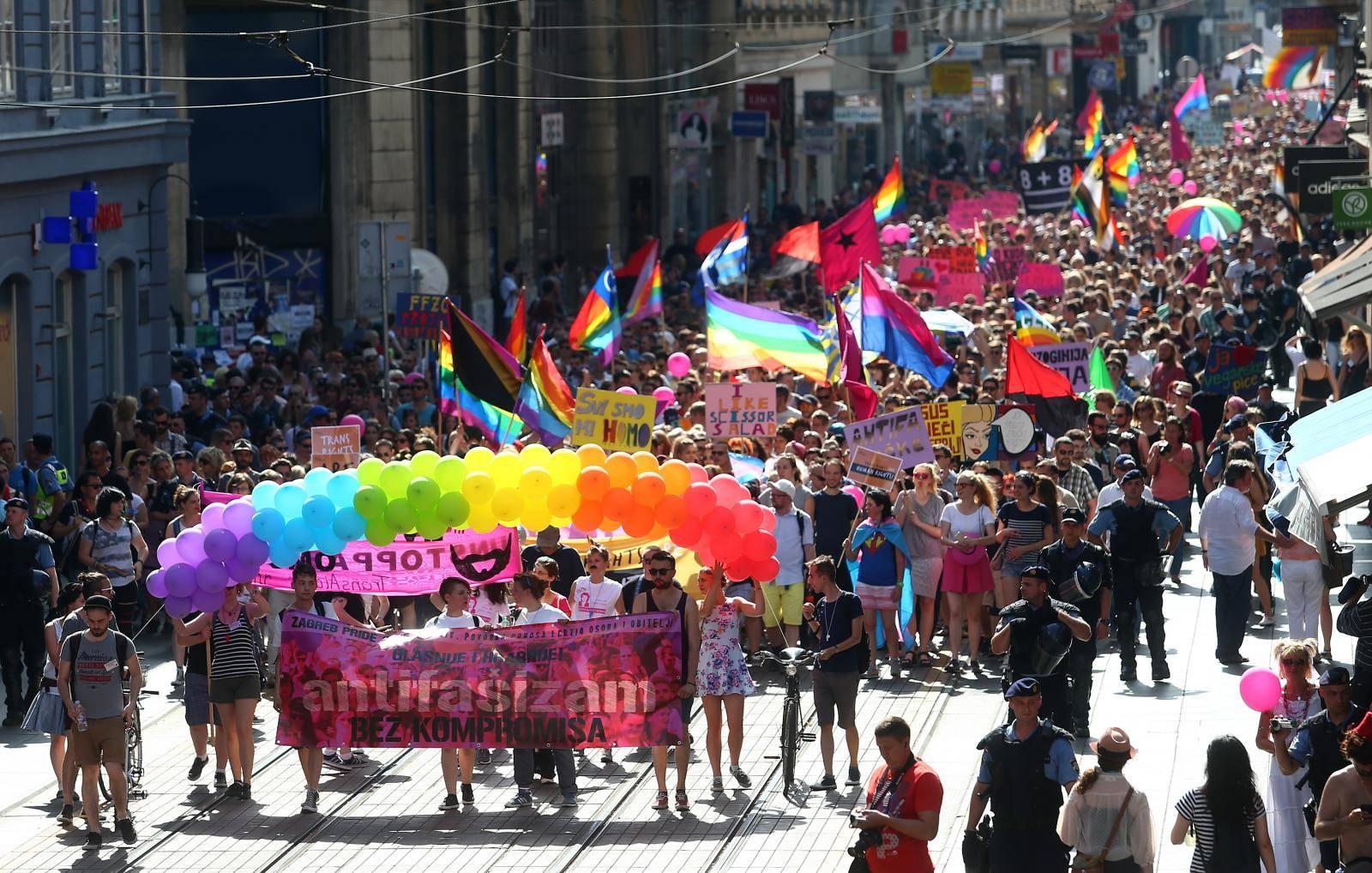 XIV. Povorka ponosa LGBTIQ osoba i obitelji