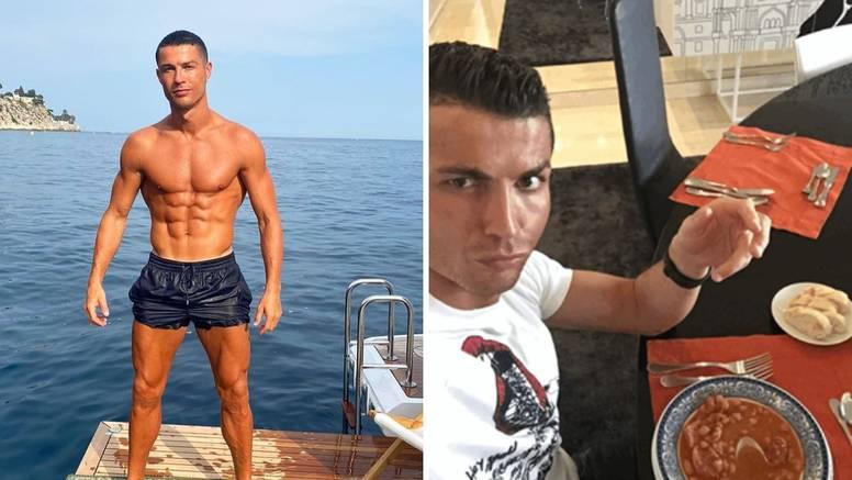 Što jede Ronaldo? Ne može bez piletine i ribe, a nekad zna spavati i po pet puta dnevno