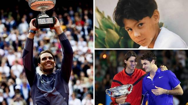 Životna priča Nadala: Škampi mu pomogli da sruši Federera