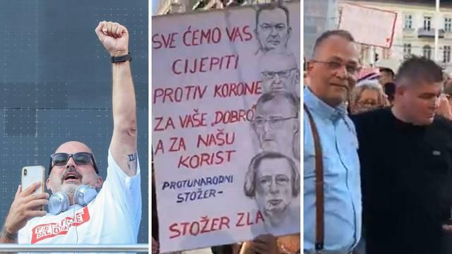 Tony Cetinski zaurlao: 'Cijepite si mamu!', a skup na trgu je završio s hrvatskom himnom