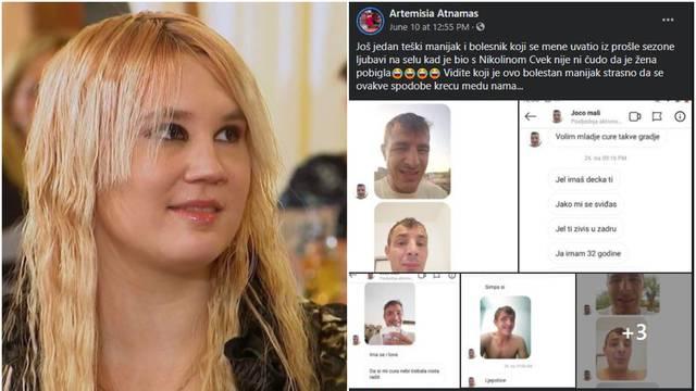 Samanta prozvala natjecatelja Jovicu zbog neukusnih poruka: 'Ti si jedan teški manijak...'