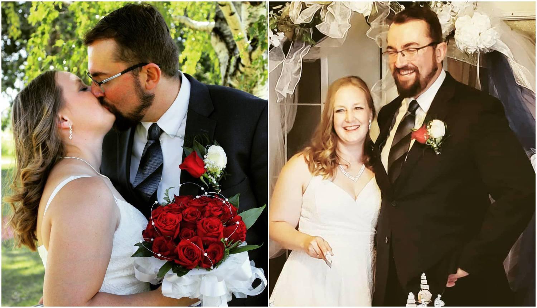 Vjenčali su se Antonija i Srećko: 'Crkveno vjenčanje planiramo u 2021.Hvala svima na podršci...'