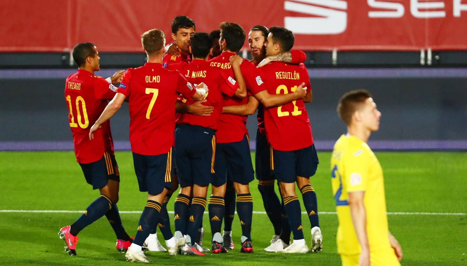 UEFA Nations League - League A - Group 4 - Spain v Ukraine