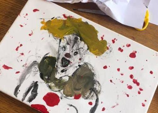 Zamolila sina (7) da je naslika pa se šokirala njegovom slikom