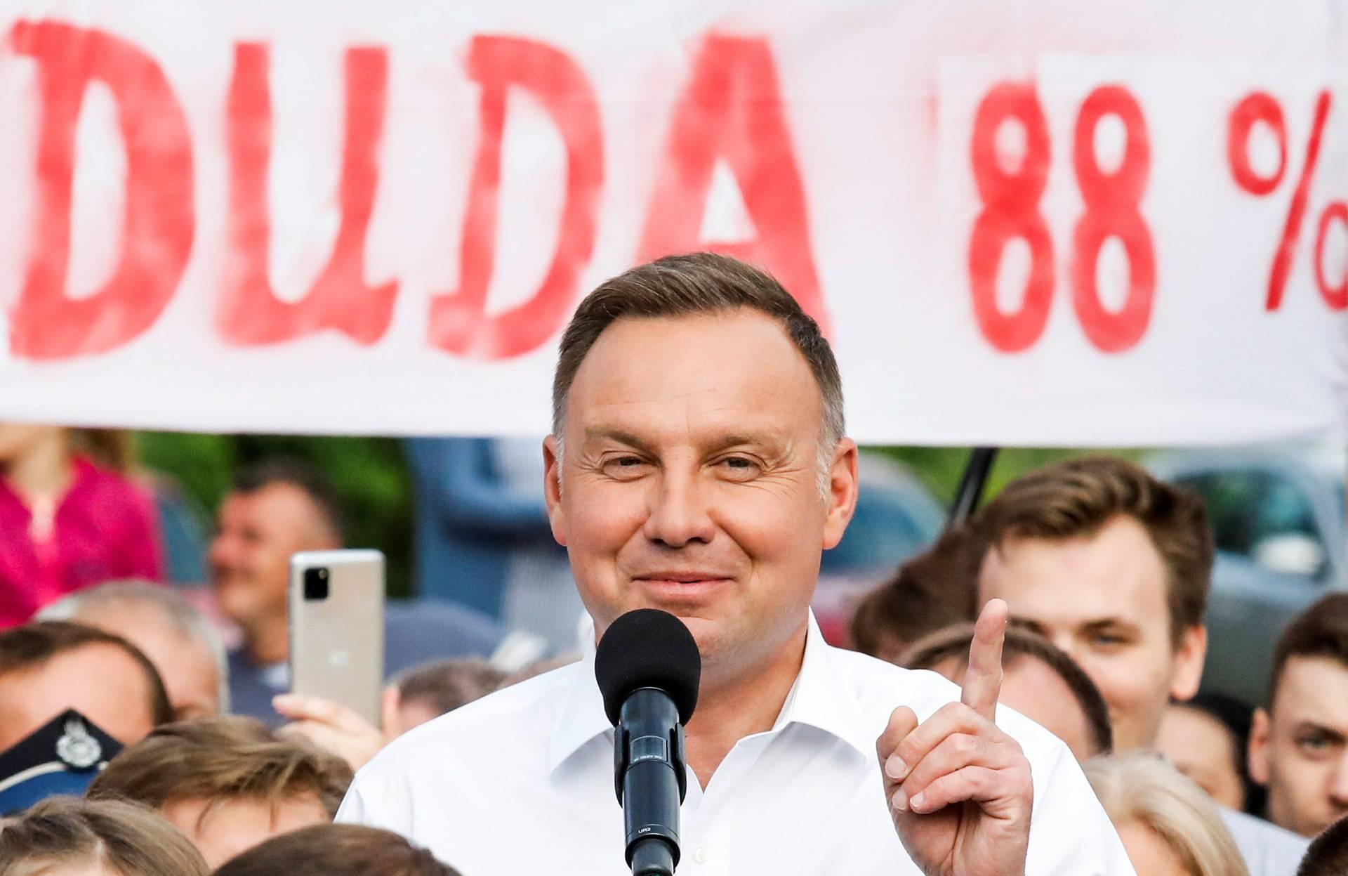 Predsjednički izbori u Poljskoj: Dudi osvojio 51 posto glasova