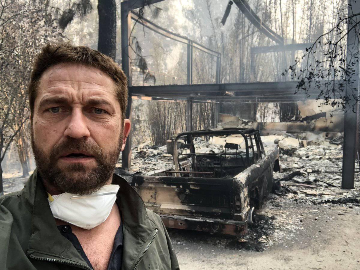 Gerard Butler ostao bez kuće: 'Požar guta sve pred sobom...'