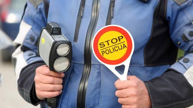 Policija provodi cjelodnevni nadzor brzine kretanja vozila