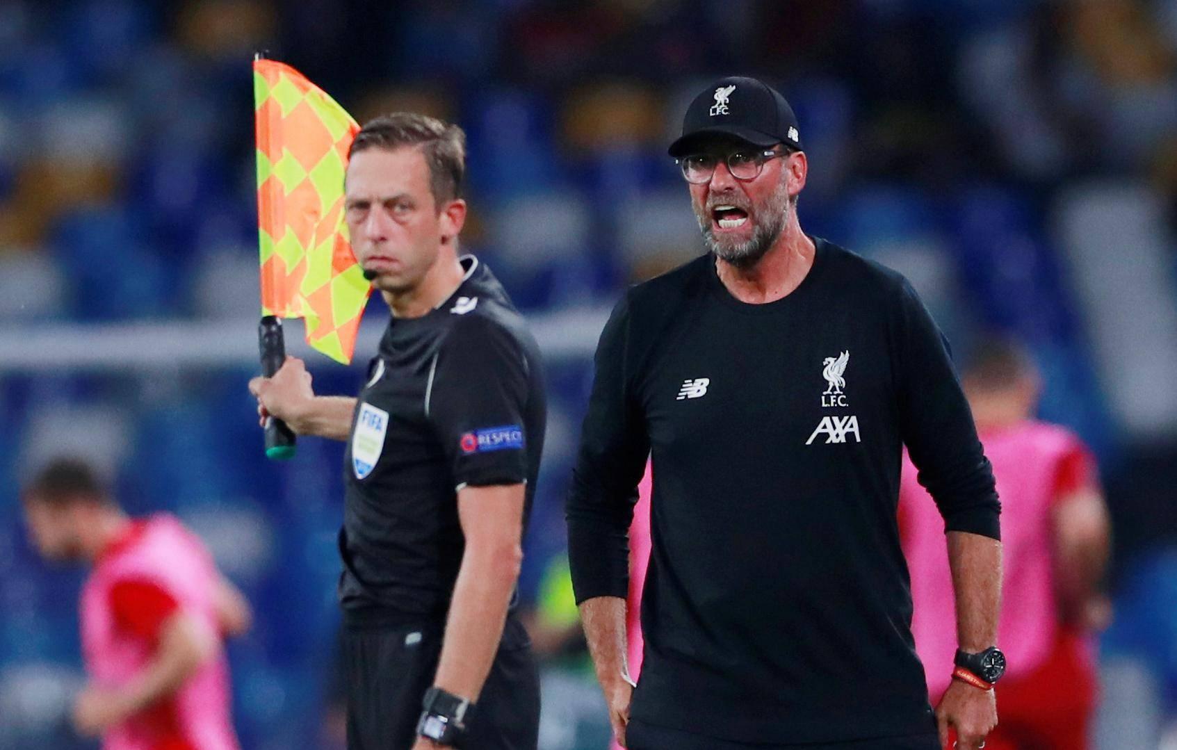 Champions League - Group E - Napoli v Liverpool