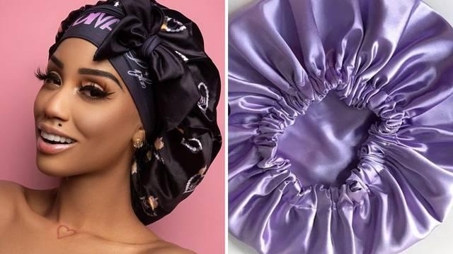 Noćna rutina: Na spavanje idite sa svilenom kapicom za kosu