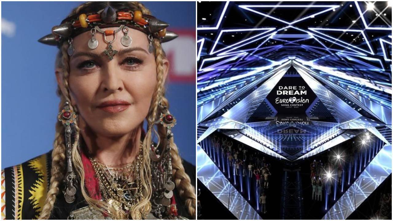 Madonna će na Eurosongu dvije pjesme naplatiti 10 mil. kuna...