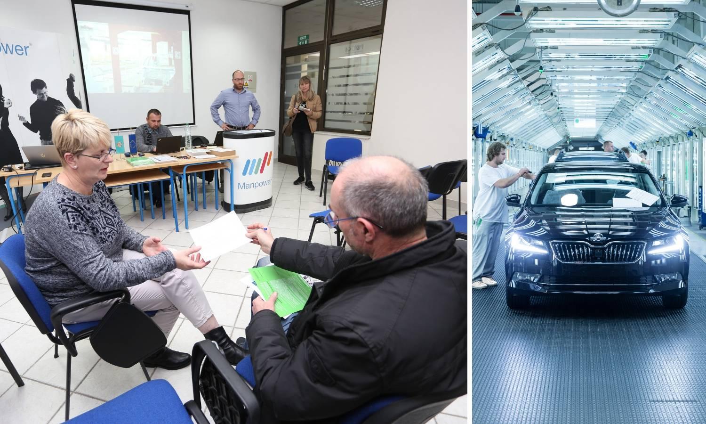 Škoda auto traži djelatnike u Hrvatskoj za rad u Češkoj