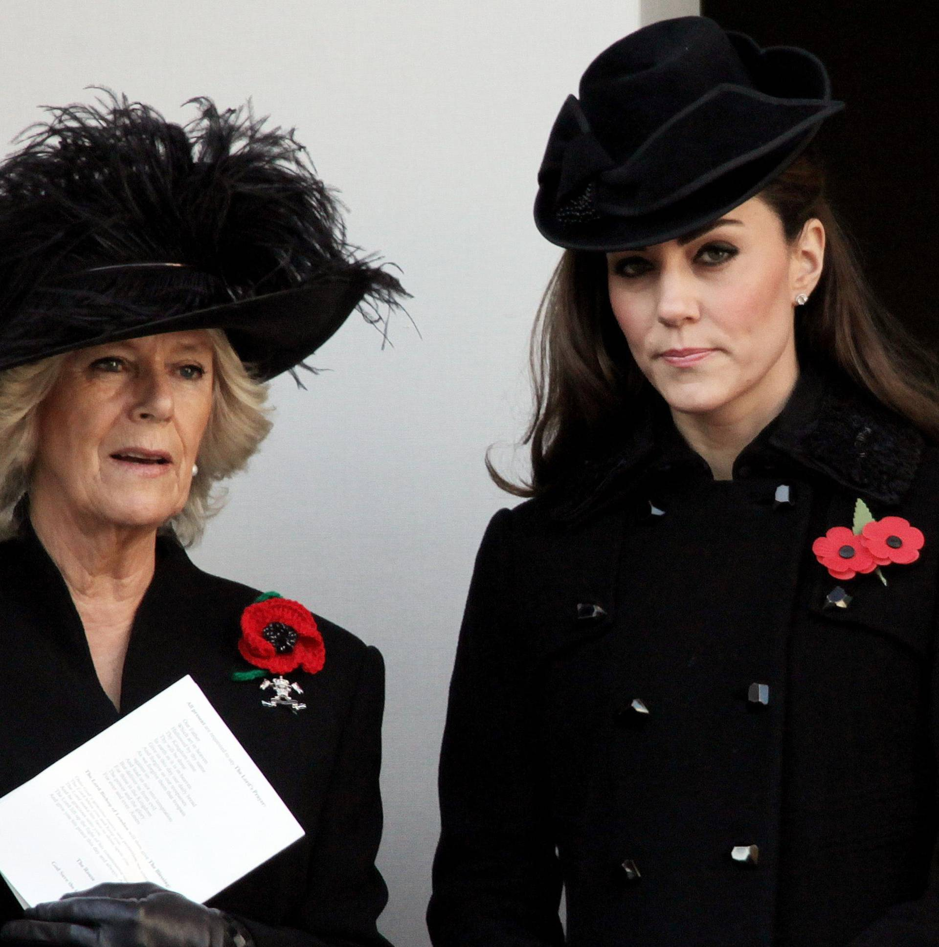 Royals at Remembrance Day Ceremony at the Cenotaph.
