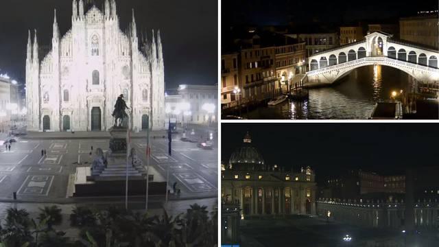 Ulice u Italiji zjape prazne: Svi se pridržavaju mjera zaštite