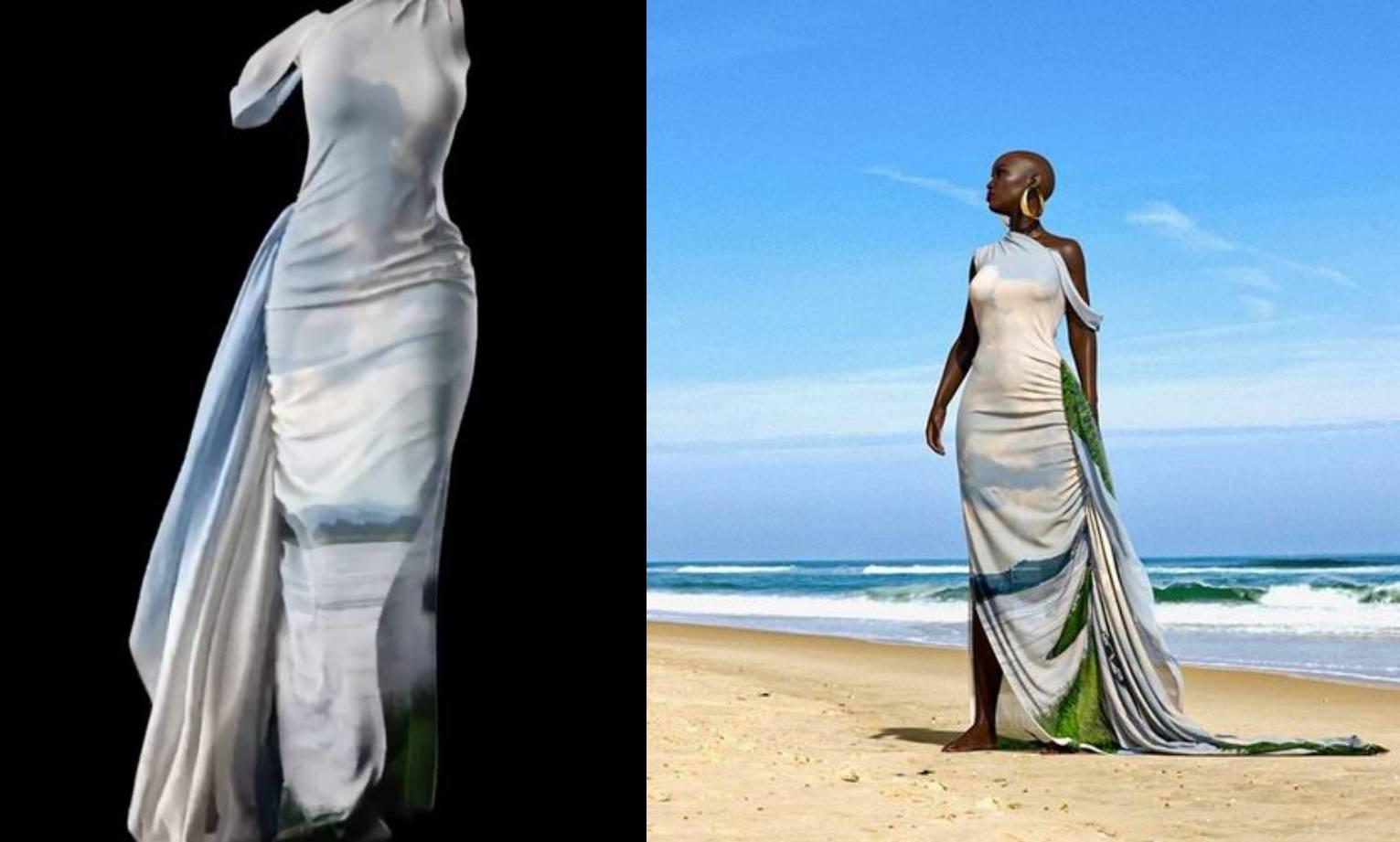 Modna dizajnerica predstavila kolekciju na 3D manekenkama