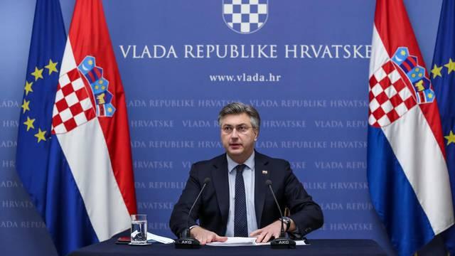 Premijer Plenković: 'Nastavit ćemo graditi zemlju razvijene demokracije i solidarnosti'