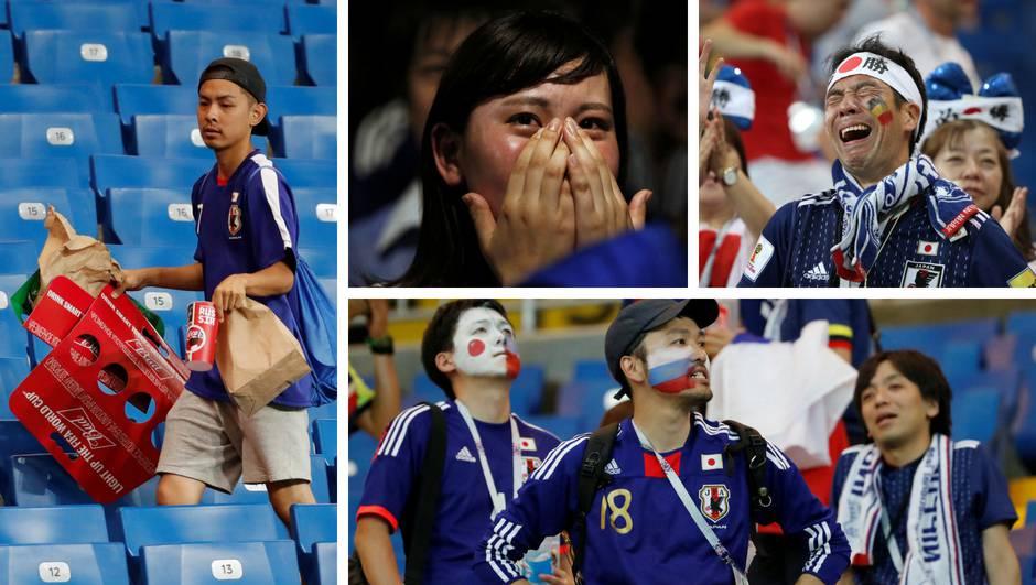 Nevjerojatni Japanci u suzama čistili stadion i dijelili poklone