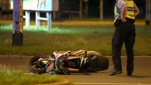 Sudarili su se motocikl i auto: Jedan čovjek je ozlijeđen