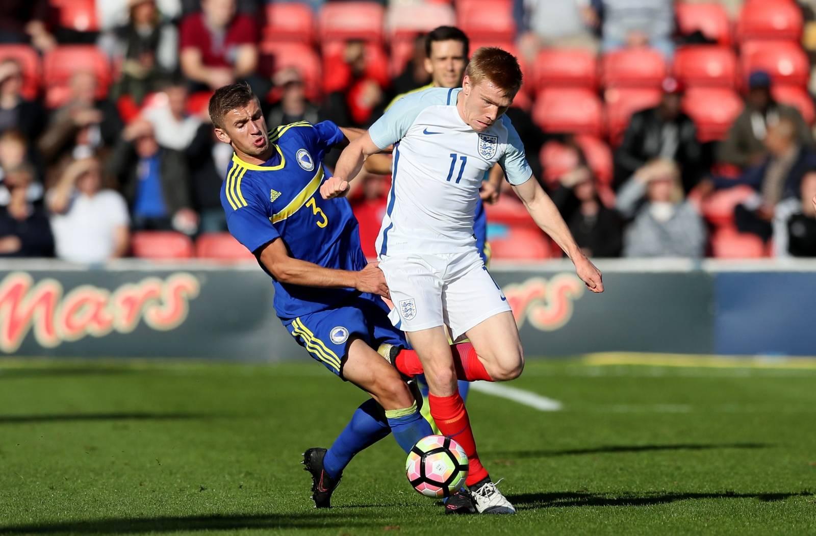 England U21s v Bosnia and Herzegovina U21s - 2017 UEFA European Under-21 Championship Qualifying - Group 9 - Banks's Stadium