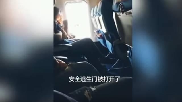 Htjela prozračiti: U zrakoplovu otvorila 'izlaz za slučaj nužde'