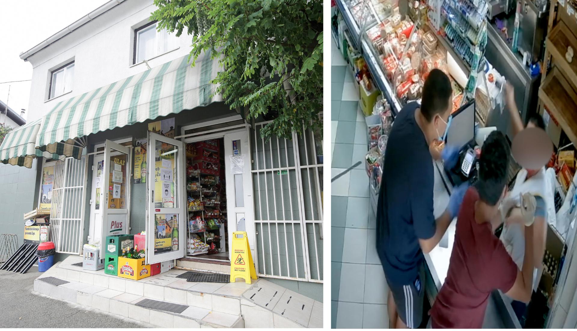 Vlasnik trgovine: 'Prodavačica je doživjela veliki šok i u bolnici je. Nije se trebala suprotstaviti'
