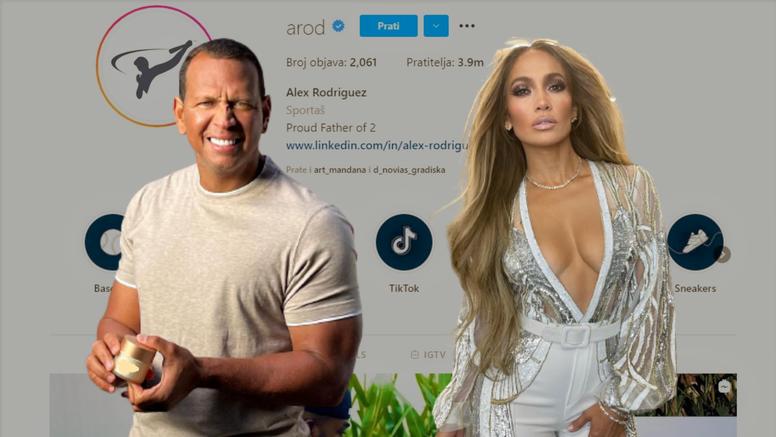 Jennifer Lopez obrisala je Alexa Rodrigueza sa svog Instagrama