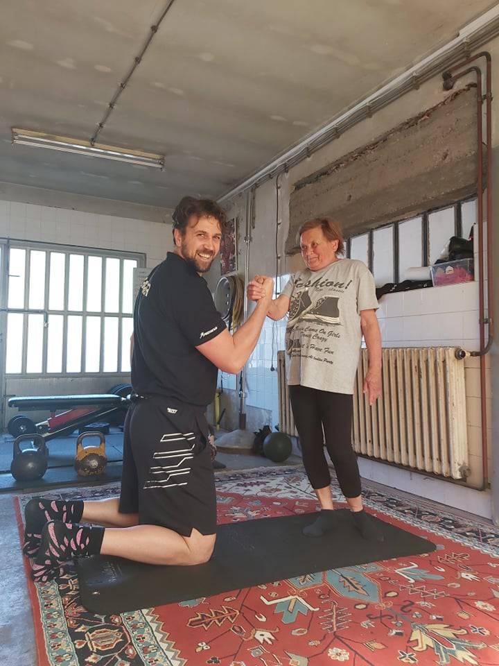 Superbaka Marica (77) vježba: 'Treniram uz mog Tomislava'