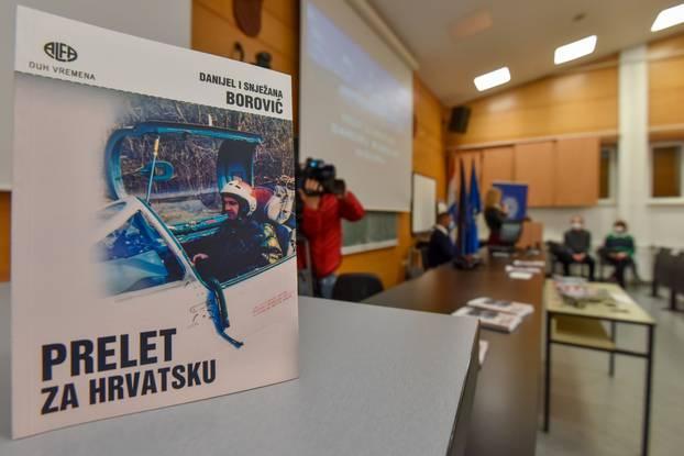 Zadar: Održana je promocija knjige Prelet za Hrvatsku autora Danijela Borovića