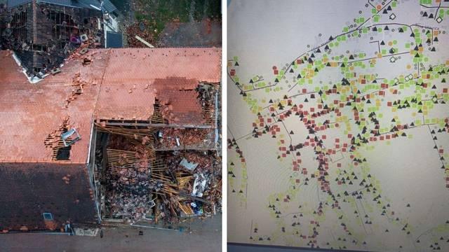 Nova strašna karta statičara: Stradali centri Petrinje i Siska