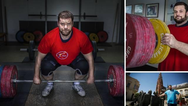 Vjeroučitelj Ante (34) digne 180 kilograma u trzaju: 'Najjači sam Hrvat, a bio sam kao štapić'