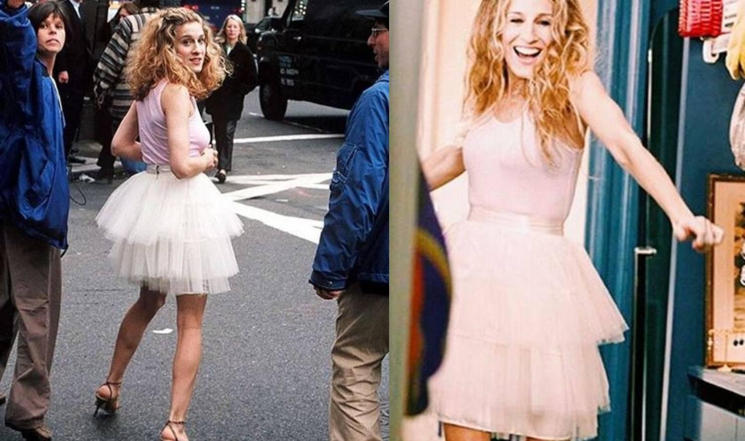 Carrie i njezina suknja od tila: Slavna kreacija iz serije 'Seks i Grad' koštala je samo 35 kuna