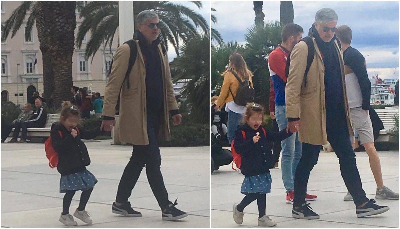 Djed šarmer: Aljoša Asanović unuku Zorku ne ispušta na rivi