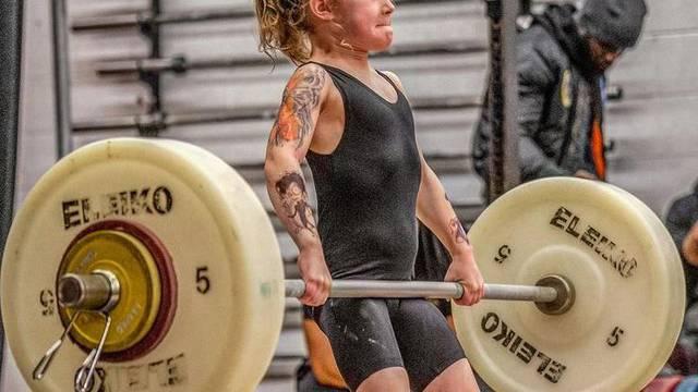 Najsnažnija curica na svijetu (7): Može dizati utege od 80 kg