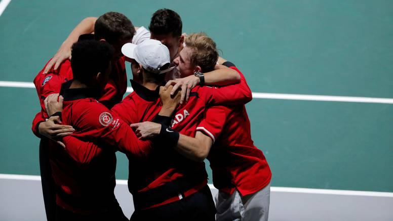 Davis Cup: Kanađani su dobili SAD i prvi ušli u četvrtfinale