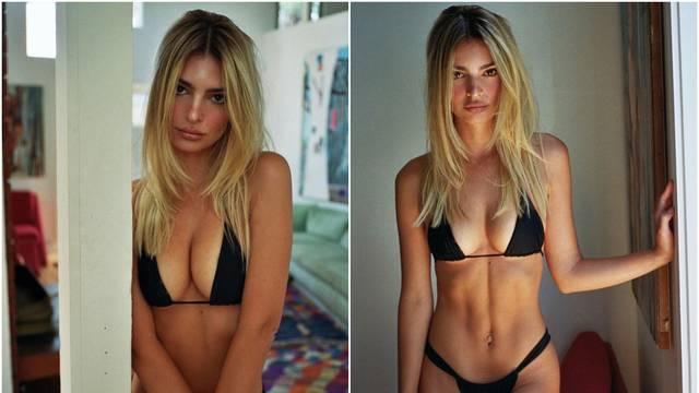 Emily Ratajkowski promijenila boju kose pa pozirala u bikiniju
