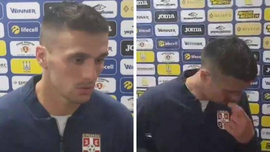 Zvijezda Srbije na rubu suza: 'Sramota. Nikad nije bilo teže'