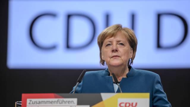 GER,  31. Parteitag der CDU Deutschlands in Hamburg