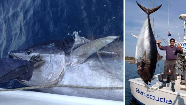Ulovio je tunu rekordera od nevjerojatnih 317 kilograma