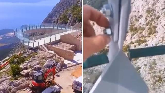 VIDEO Prstom odvijao šaraf na šetnici Biokovo na 1228 metara