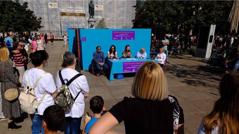Svjetski Dan zdravlja pluća: U Zagrebu postavili interaktivnu instalaciju u formi labirinta