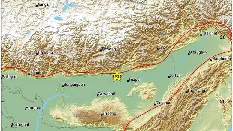 Potres magnitude 6 u Indiji: 'Urušili su nam se stropovi'