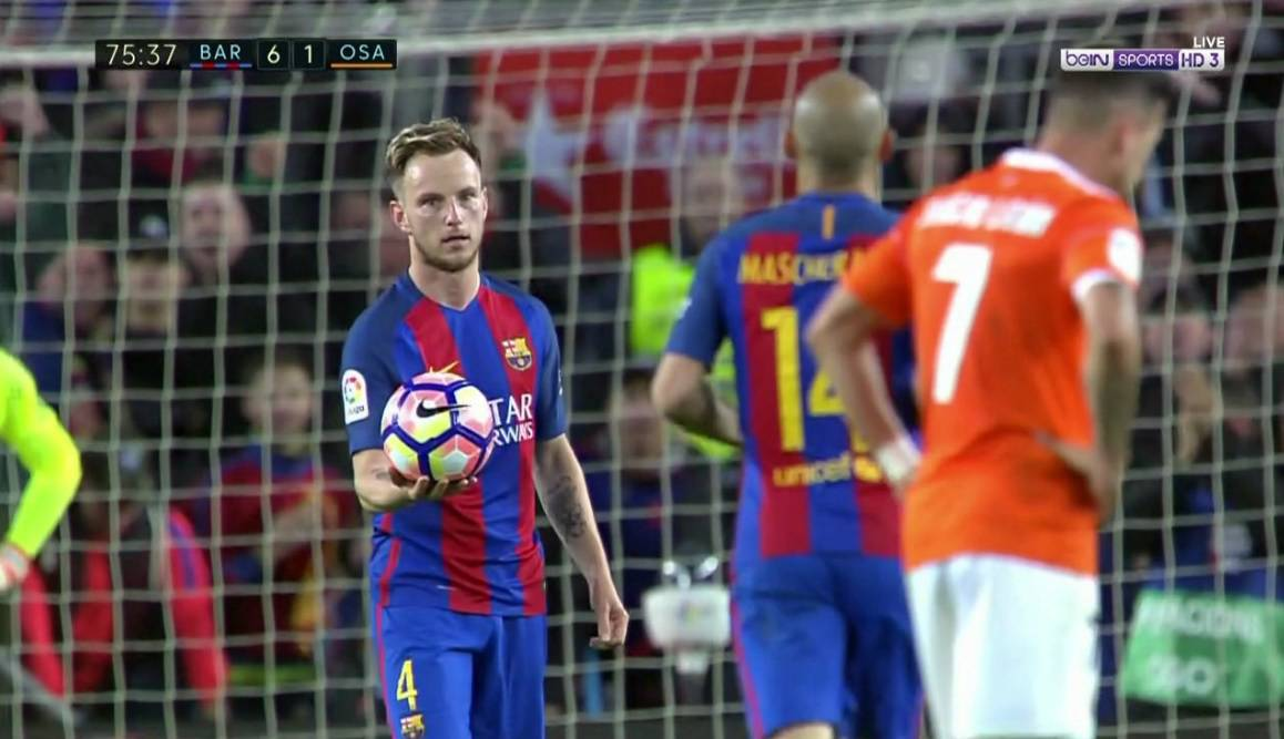 Raketa, majstore! Mascheranu je dao penal za njegov prvi gol