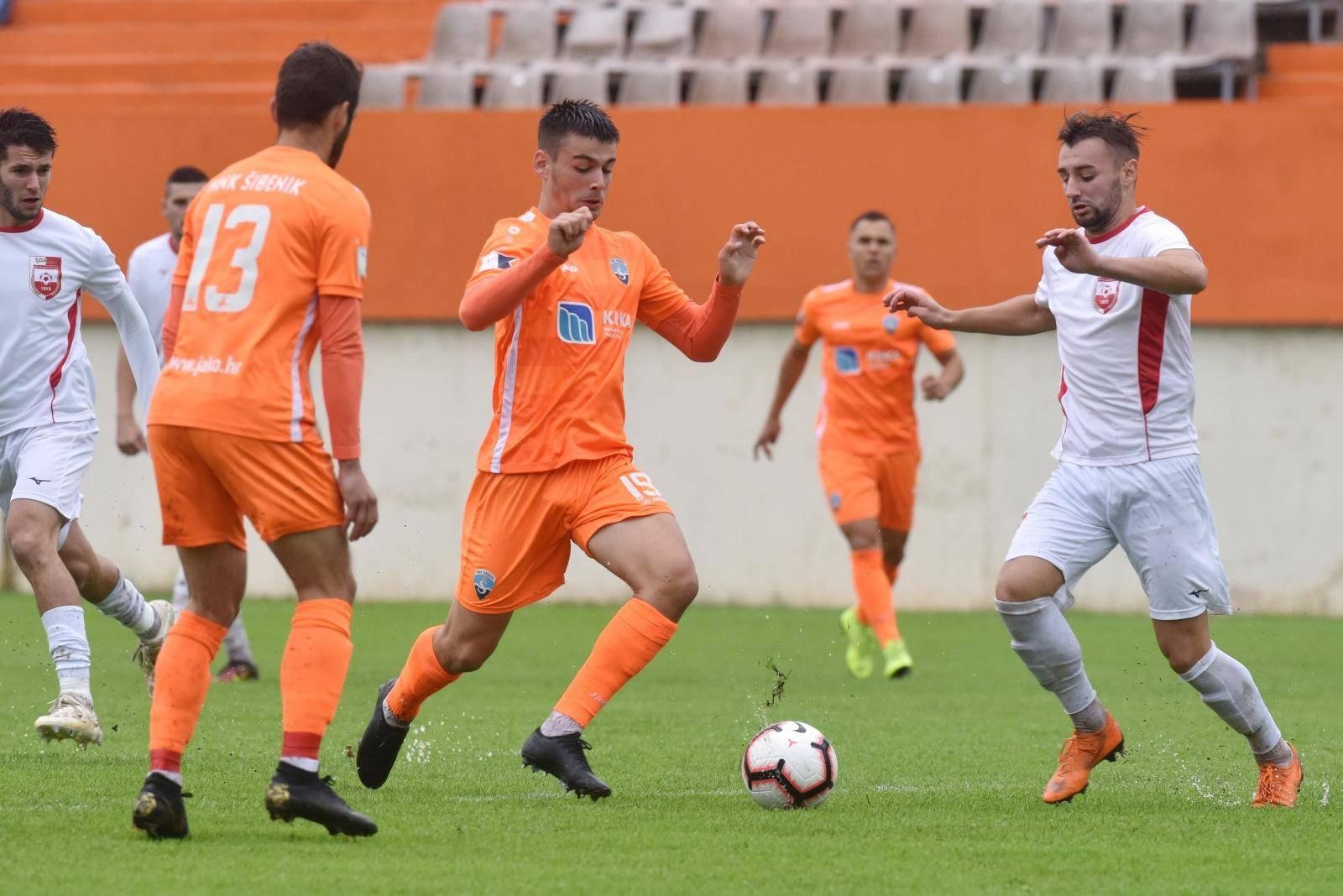 Šibenik i Belišće sastali se u osmini finala Hrvatskog nogometnog kupa