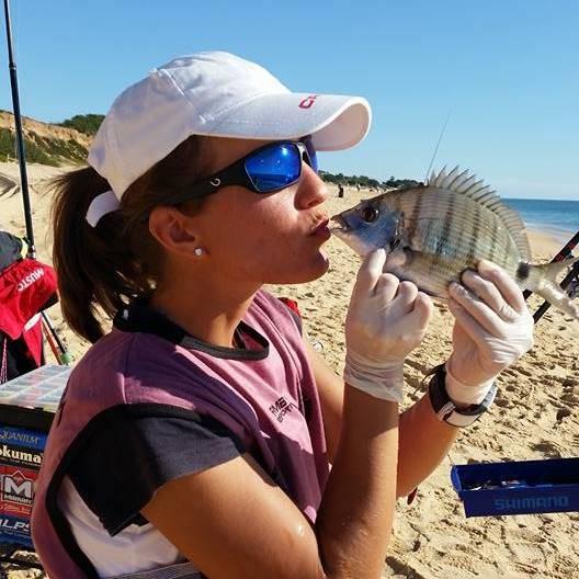 Ribolovka Tea Radil: Ja sam kao Federer u svijetu ribolova